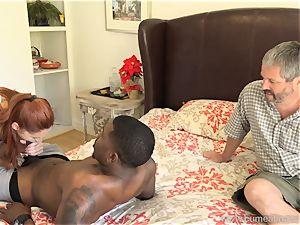 Edyn Blair boned By immense ebony penis spouse watches