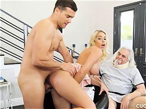 Athena Palomino - My lazy husband should observe how real guys activity