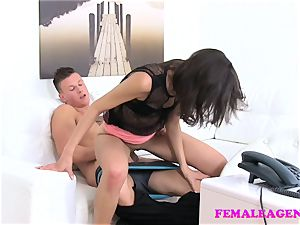 FemaleAgent fellows bod gives new agent a wettie