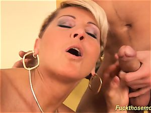 naughty fur covered enormous bap milf humped