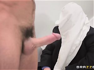 humble spouse sees his wifey Monique Alexander get assfucked