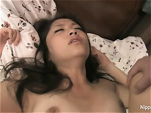 chinese student gets ravaged on the bed