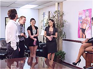 Getting super-naughty in the office part 1