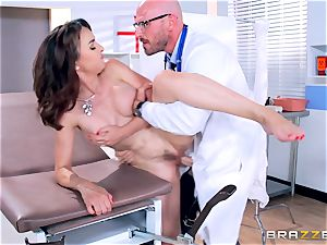 Cytherea is left squirting as she visits the doc