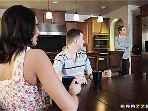 Nicole Aniston and August Ames takes it testicles deep in the minge