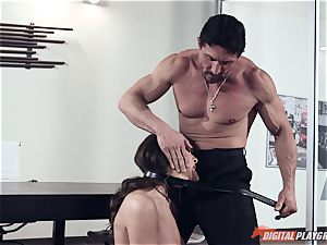 Dana DeArmond and Tommy Gunn porking in the office