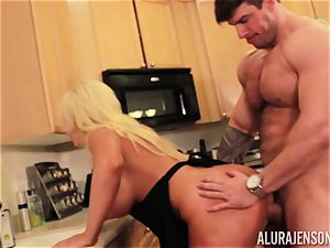 Alura Jenson gets penetrated by big muscle stud Zeb Atlas