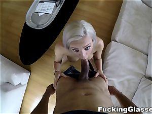 drilling Glasses - prostitute ravage with spycam twist