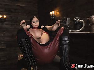ultra-kinky superhero fucky-fucky with Ariana Marie and Xander Corvus