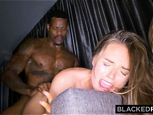 BLACKEDRAW wife Lies To hubby To Hook Up with big black cock