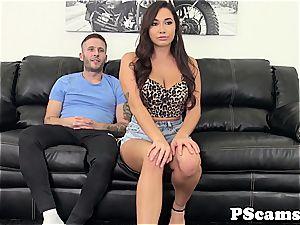 huge-titted webcam stunner Karlee Grey dumping live