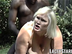 LACEYSTARR - grandmother praying for young black fuck-stick