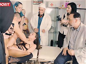 LETSDOEIT - Amirah Is manhandled at her first-ever bondage & discipline soiree