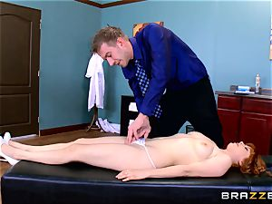 Patient Penny Pax fucked by hefty dicked medic