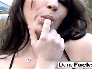 Dana sucks his jizz-shotgun and takes it up the caboose
