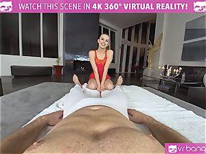 VRBangers.com lithe Jill Will stretch Her juicy snatch