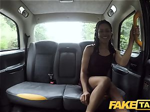 faux cab hasty fuckin' and internal ejaculation for peachy donk