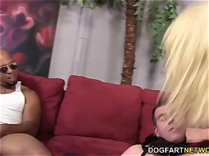 cuckold tart Leya Falcon takes anal invasion nailing