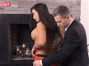 LETSDOEIT - Spanish honey enjoys boinking thick French schlongs
