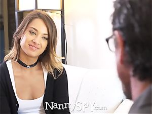 NannySpy Recently hired nanny Uma Jolie pulverized