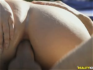 warm donk Maddy OReilly railing pecker