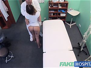 FakeHospital puny euro patient climaxes vag cream