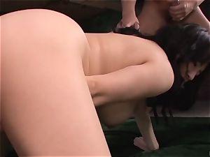 Japan gonzo intercourse with bare stunner Maomi Nagasawa