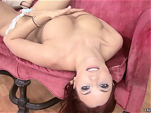 Jayden Cole whips out her mouth-watering lush baps