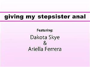 cougar Ariella Ferrera tempts teenager Siblings To rump pummel