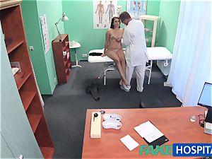 FakeHospital doc investigates ultra-cute scorching sumptuous patient