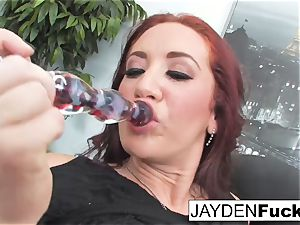 Jayden Jaymes Is horny In the Office