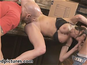 Veronica Avluv gets her vengeance with a scorching threesome