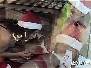 sapphic christmas sensational with ariella ferrera