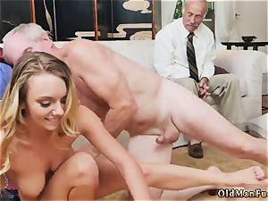 woman kneeing dude Molly Earns Her Keep