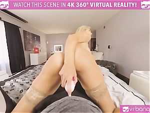 VRBangers.com-MILF is jamming a magic wand in her cunt