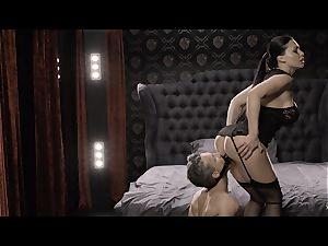 xCHIMERA - Hungarian honey Aletta Ocean in glamcore sex