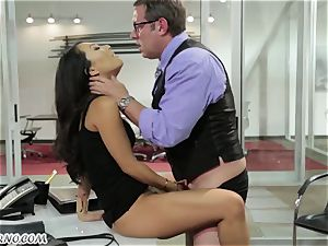 sex-positive japanese secretary gets torn up in the office